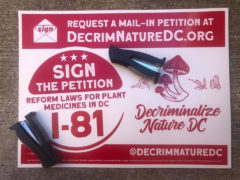 Campaign to Decriminalize Nature DC Petition Poster Party (DC) June 11 2020