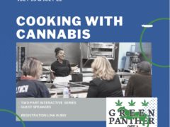 Cooking With Cannabis Interactive Series (DC) July 15 & 22 2020