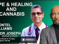 Hope & Healing Webinar with Dr Joseph Rosado and Montel Williams (online) August 6 2020
