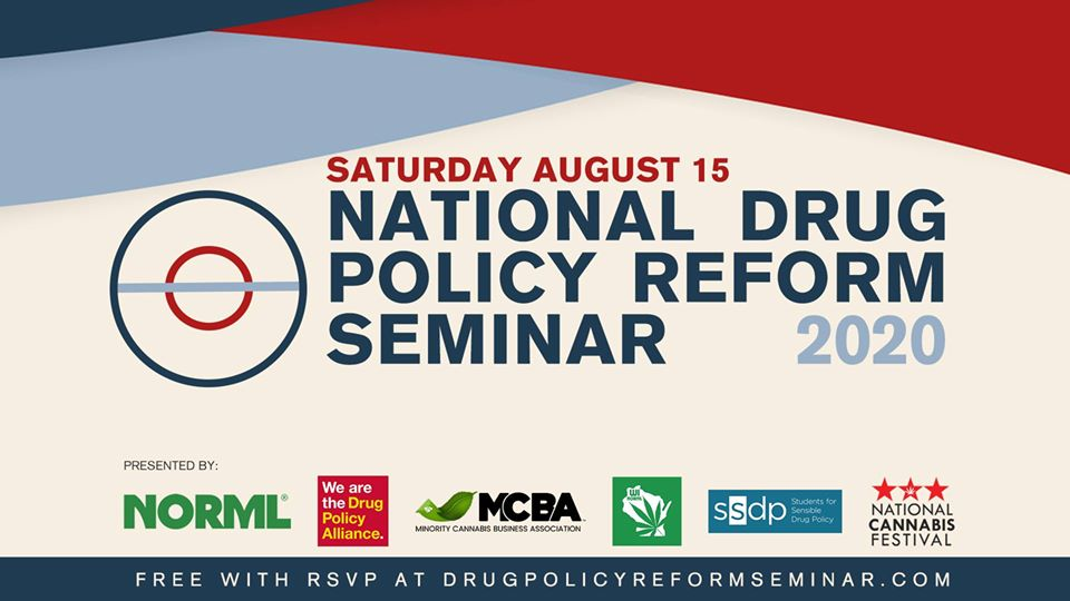National Drug Policy Reform Seminar (online) August 15 2020