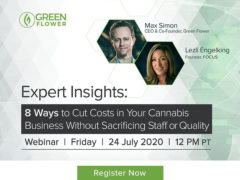 Webinar 8 Ways to Cut Costs in Your Cannabis Business (online) July 24 2020