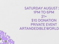 Art & Edible World Saturday (DC) August 29 2020