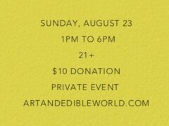 Art & Edible World Sunday Funday (DC) August 23 2020