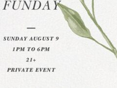 Art & Edible World Sunday Funday (DC) August 9 2020