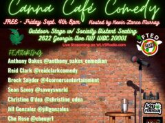 Canna Cafe Comedy by Listen Vision Studios (DC)