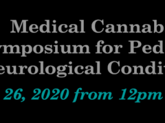 2020 Medical Cannabis for Pediatric Neurological Conditions Symposium (online) September 26 2020