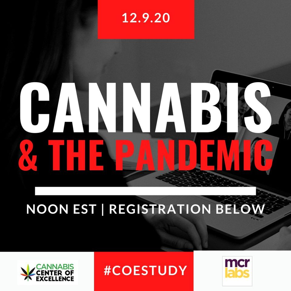Cannabis and COVID-19 - research and implications (online) December 9 2020