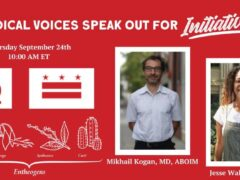 DC Medical Voices Speak Out for Initiative 81 (online) September 24 2020