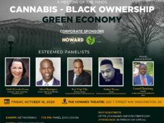 Black Ownership in the Cannabis Industry (online) October 16 2020