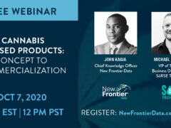 Cannabis Products Concept Commercialization Webinar (online) October 7 2020