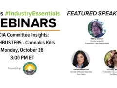 NCIA Committee Insights MYTHBUSTERS Cannabis Kills (online) October 26 2020