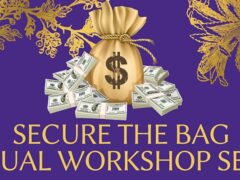 Secure the Bag Virtual Workshop Series (online) October 19 2020