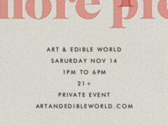 Art & Edible World Saturday (DC) November 14 2020