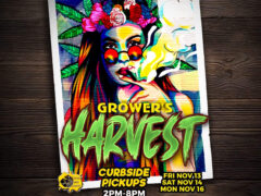 Blissful Budz Growers Harvest (DC) November 13 14 16 2020