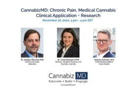 Chronic Pain Medical Cannabis Clinical Application (online) November 16 2020