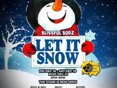 Blissful Budz Let It Snow (DC) December 21 2020