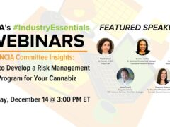 Develop Risk Management Program for Your Cannabiz (online) December 9 2020