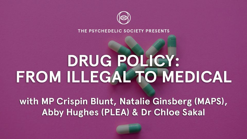 Drug Policy From Illegal To Medical (online) January 6 2021