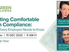 Getting Comfortable with Compliance (online) December 15 2020
