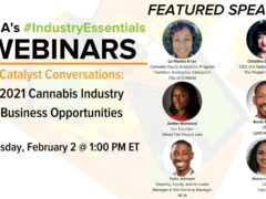 2021 Cannabis Industry Business Opportunities (online) February 2 2021