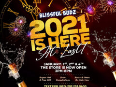 Blissful Budz 2020 (DC) January 1st 2nd 4th 2021