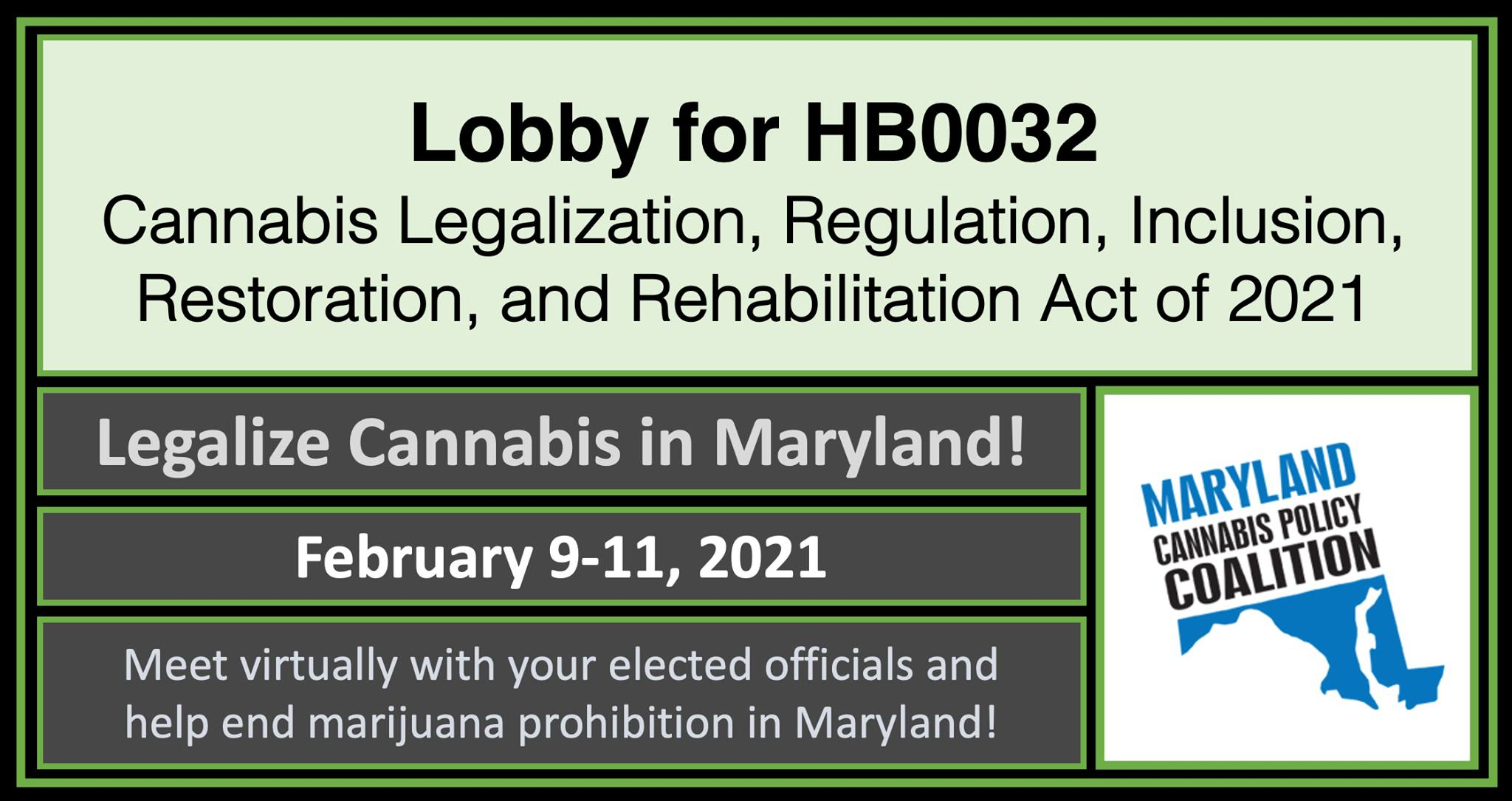 MD NORML HB0032 Lobby Day 1