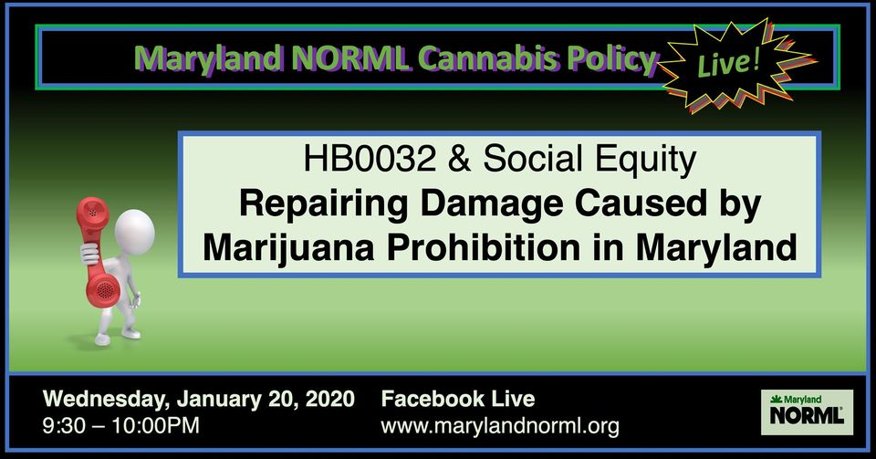 MD NORML Healing an Open Wound (online) January 20 2021