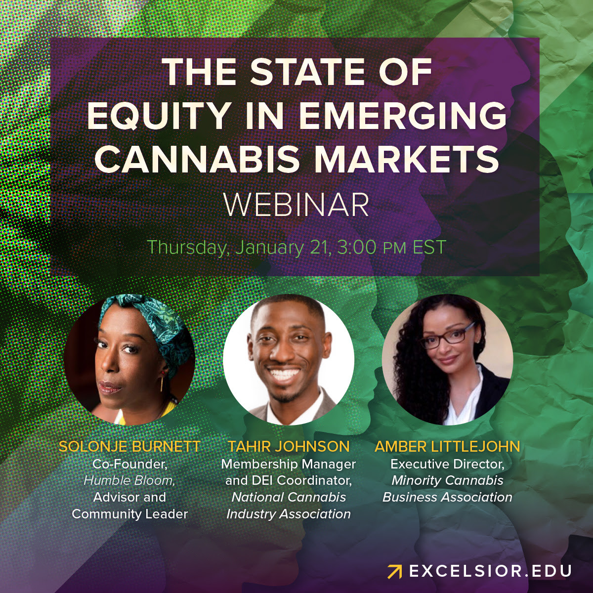 State of Cannabis Equity Roundtable (online) January 21 2021